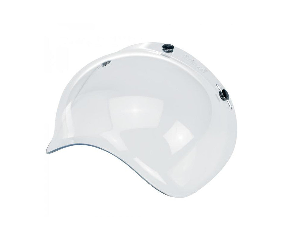 Biltwell Bubble Shield - Clear - Ton-Up New Zealand - Motorcycle Helmets, Clothing & Accessories
