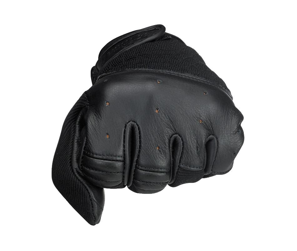 Biltwell Bantam Gloves - Black - Ton-Up New Zealand - Motorcycle Helmets, Clothing & Accessories