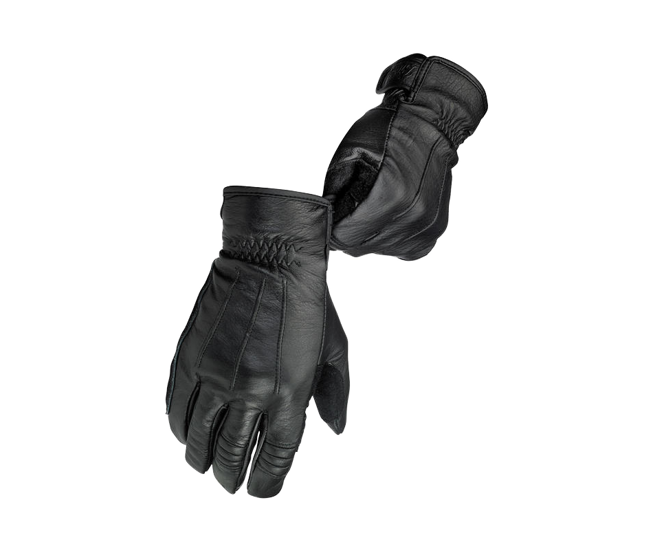 Biltwell Work Glove - Black - Ton-Up New Zealand - Motorcycle Helmets, Clothing & Accessories