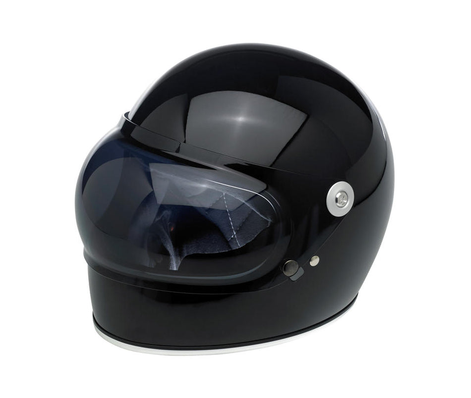 Biltwell Gringo S Gen 1 Anti-Fog Bubble Shield - Smoke