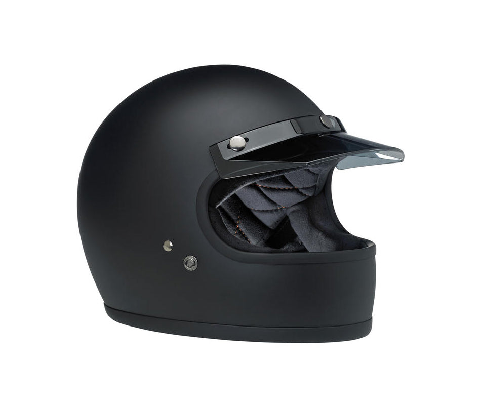 Biltwell Moto Visor - Smoke - Ton-Up New Zealand - Motorcycle Helmets, Clothing & Accessories
