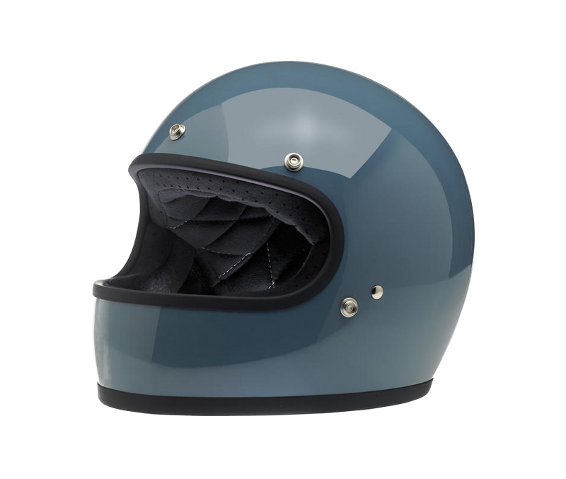Biltwell Gringo Helmet - Baja Blue - Ton-Up New Zealand - Motorcycle Helmets, Clothing & Accessories