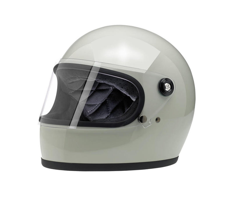 Biltwell Gringo S Helmet - Gloss Polar Green - Ton-Up New Zealand - Motorcycle Helmets, Clothing & Accessories