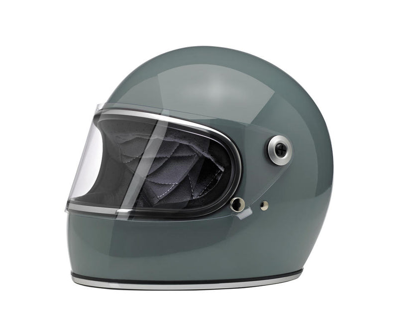 Biltwell Gringo S Helmet - Gloss Agave - Ton-Up New Zealand - Motorcycle Helmets, Clothing & Accessories