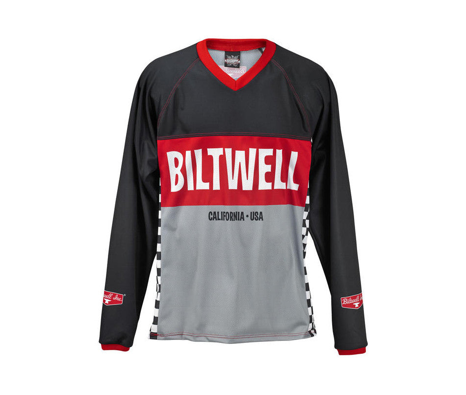 Biltwell Comp Moto Jersey - Ton-Up New Zealand - Motorcycle Helmets, Clothing & Accessories