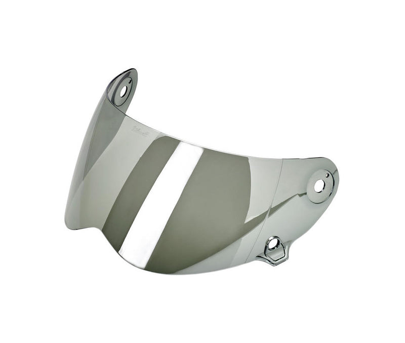 Biltwell Lane Splitter Shield - Chrome Mirror - Ton-Up New Zealand - Motorcycle Helmets, Clothing & Accessories