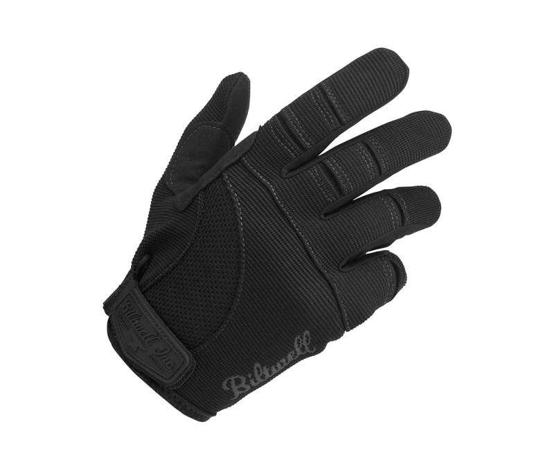 Biltwell Moto Gloves - Black - Ton-Up New Zealand - Motorcycle Helmets, Clothing & Accessories