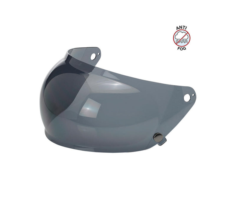 Biltwell Gringo S Anti-Fog Bubble Shield - Smoke