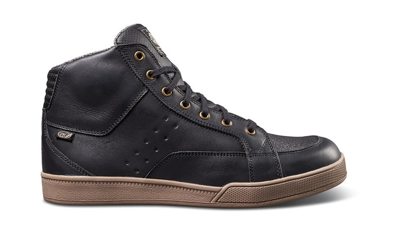RSD (Roland Sands Design) Fresno Riding Shoe - Black Gum