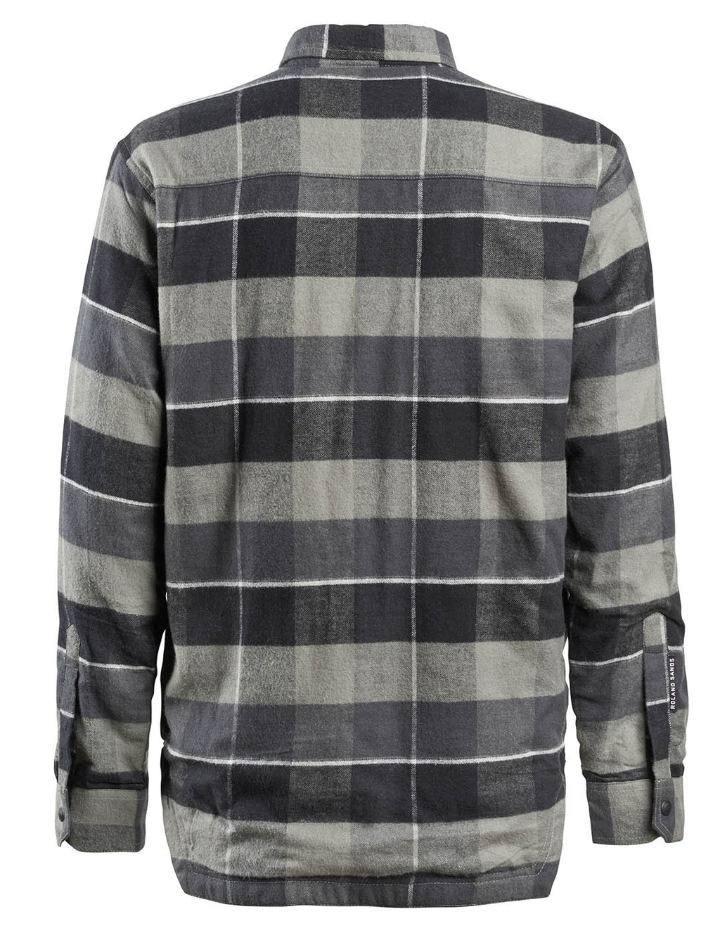 RSD (Roland Sands Design) Gorman Plaid Shirt - Black / Grey