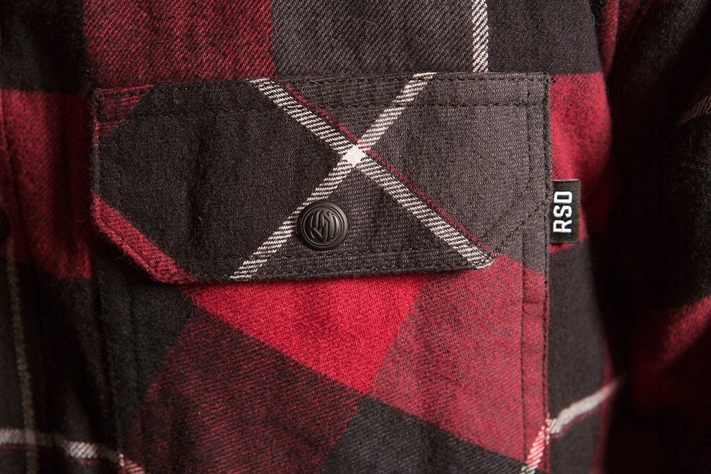 RSD (Roland Sands Design) Gorman Plaid Shirt - Red
