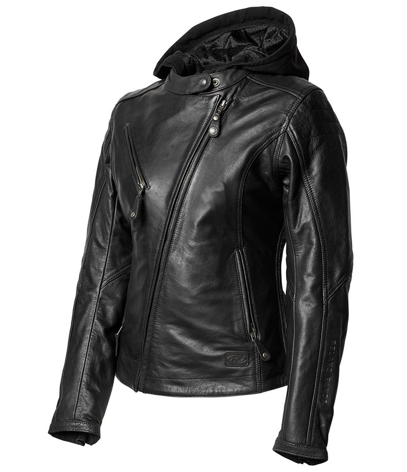 RSD (Roland Sands Design) MIA Women's Leather Jacket - Black
