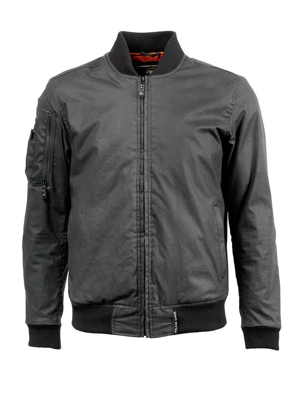 RSD (Roland Sands Design) Squad Jacket - Black - Ton-Up New Zealand - Motorcycle Helmets, Clothing & Accessories