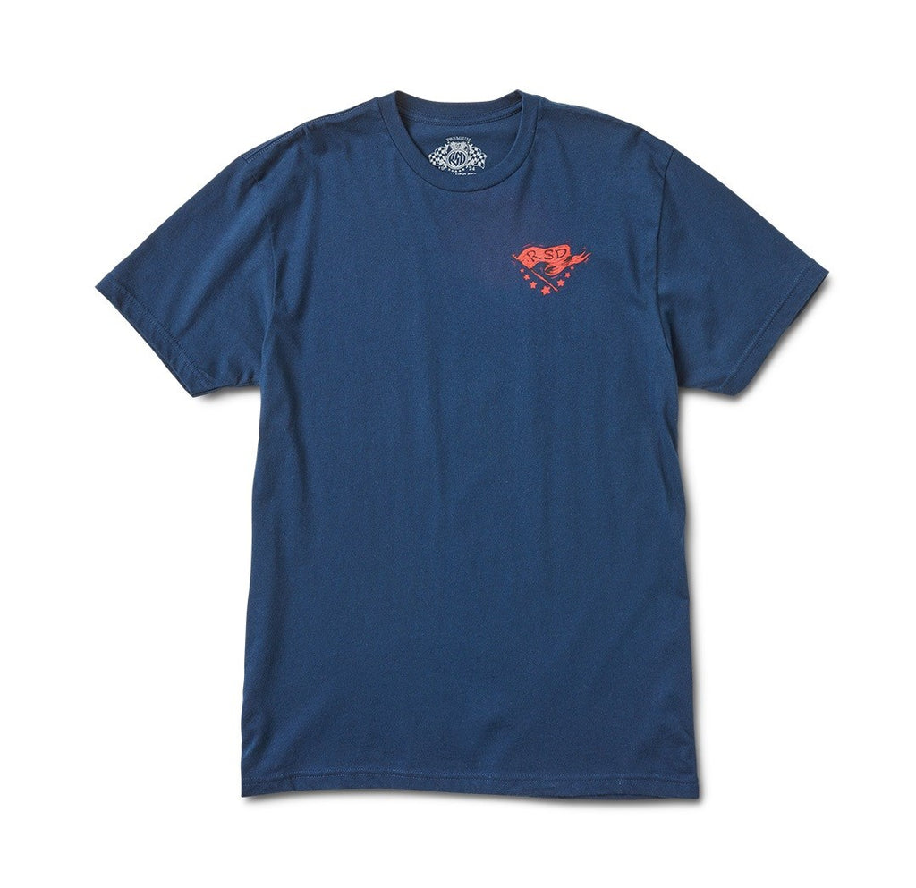 RSD Thrills T-Shirt - Navy - Ton-Up New Zealand - Motorcycle Helmets, Clothing & Accessories