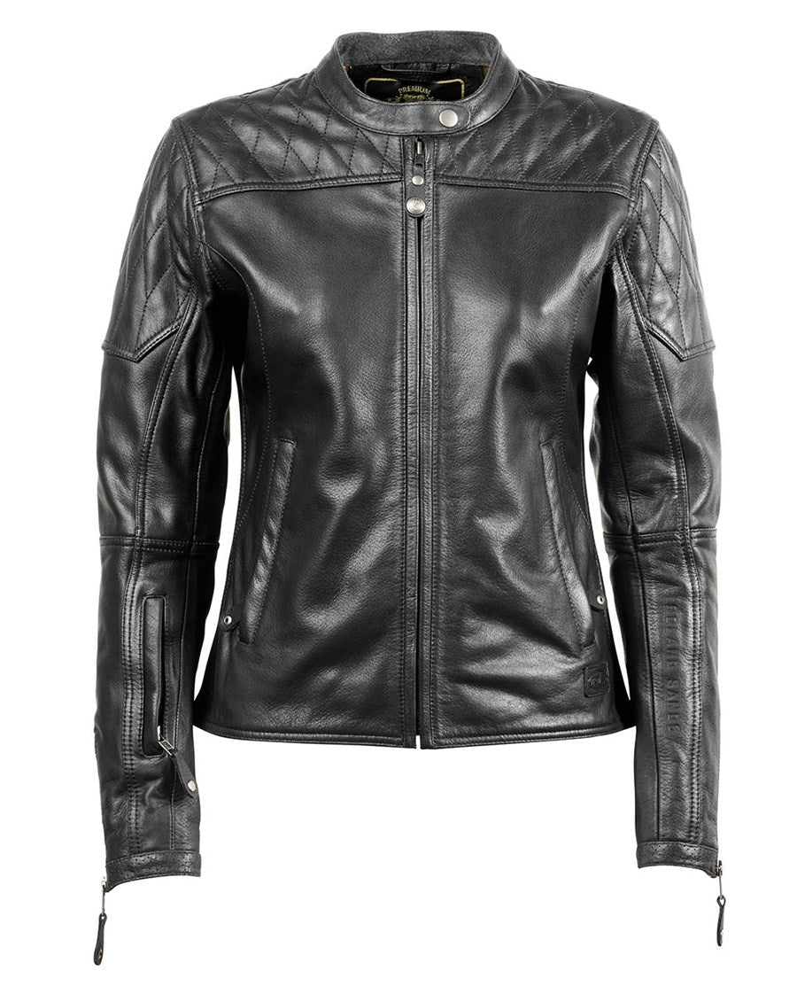 RSD (Roland Sands Design) Trinity Women's Leather Jacket - Black