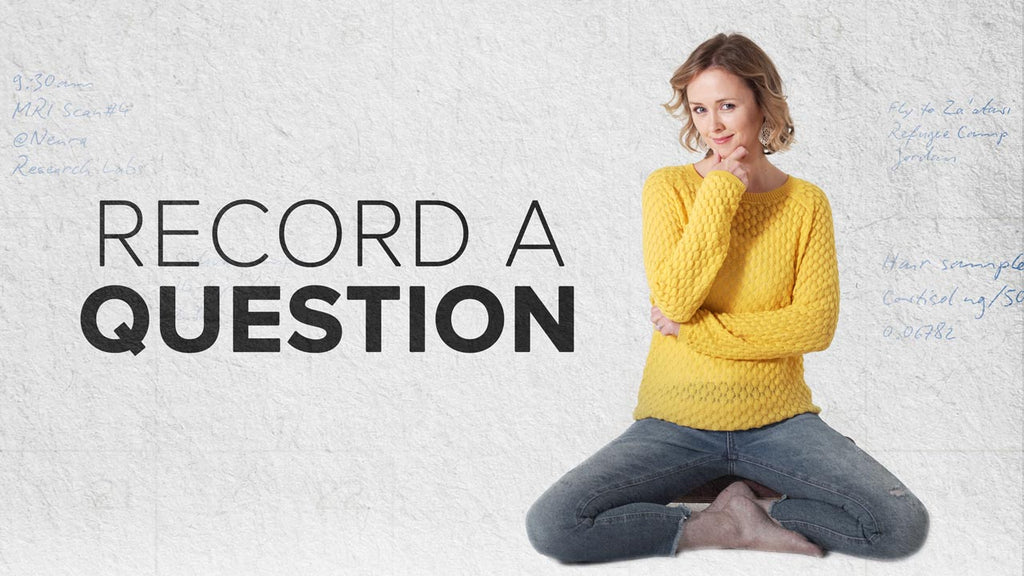 Record a Question: Podcast Voicemail