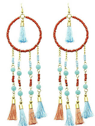 """Dreamcatcher"" Tassel Earrings"