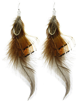 """Light as a Feather"" Earrings"