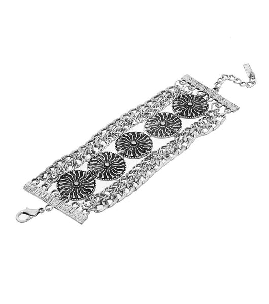 Goddess of Flowers Chain Bracelet