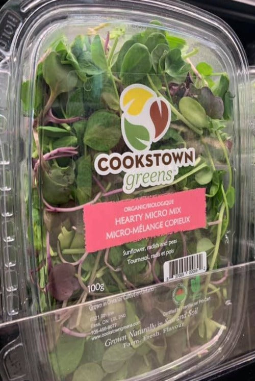 Cookstown Greens Organic Hearty Micro Mix