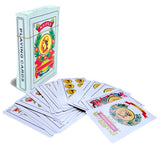 Liliane Collection Spanish Playing Cards - Full Deck with 50 Cards - Smooth Plastic Coated Cards – cartas Barajas o Naipes Espanoles in a Beautifully Artistic Traditional Design