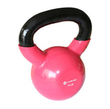 Kettlebell Fitness Iron Weights With Vinyl Coating Around The Bottom Half of The Metal Kettle Bell Exercise Body Equipment