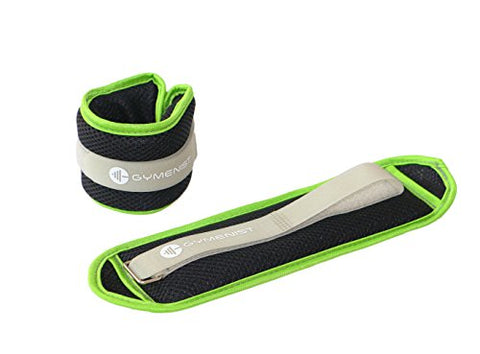 Water Proof Ankle and Wrist Weights with Adjustable Strap Great for Swimming and All Water Sports Activities