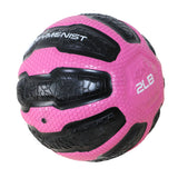 GYMENIST Rubber Medicine Ball with Textured Grip, Available in 9 Sizes, 2-20 LB, Weighted Fitness Balls,Improves Balance and Flexibility - Great for Gym, Exercise, Workouts