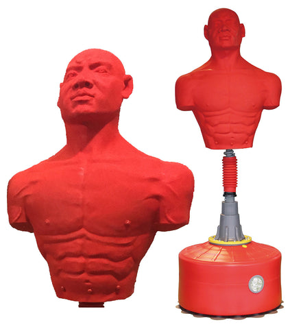 Manican Standing Punching Bag With Floor Suctions STANDS UP 70 INCHES TALL