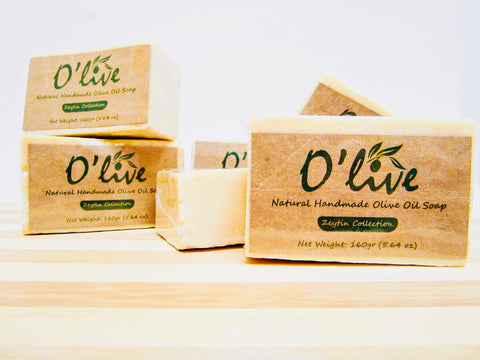 100% Natural Handmade Olive Oil Bar Soap - Unfiltered Edition