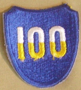 Patch, Division, Infantry, 100th