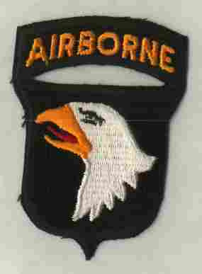 Patch, Division, Airborne, 101st