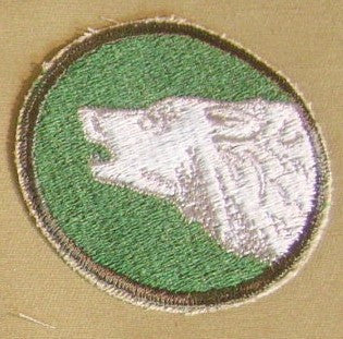 Patch, Division, Infantry, 104th