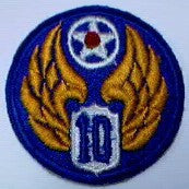 Patch, Air Force, 10th