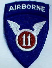 Patch, Division, Airborne, 11th