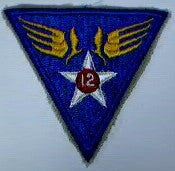 Patch, Air Force, 12th