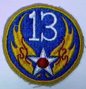 Patch, Air Force, 13th
