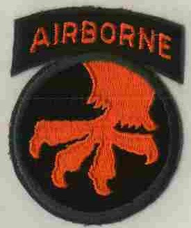 Patch, Division, Airborne, 17th