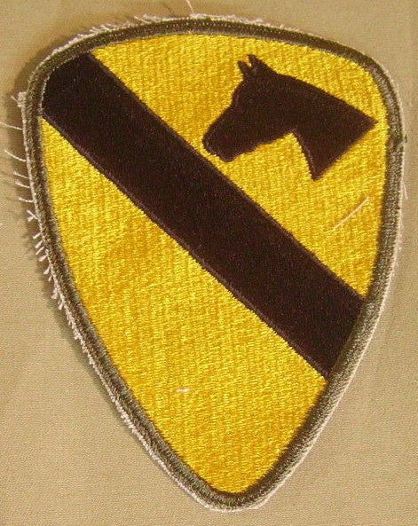 Patch, Division, Cavalry, 1st
