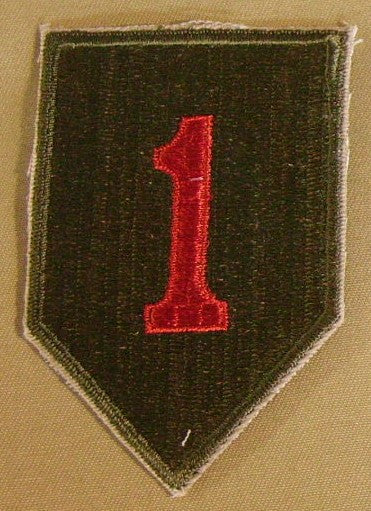 Patch, Division, Infantry, 1st