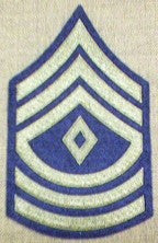Chevrons, Rank, Felt, 1st Sergeant, Army