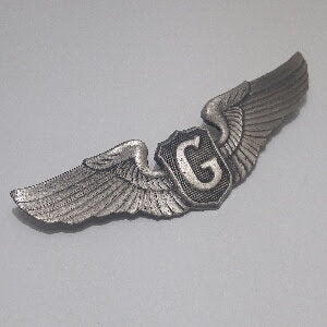 Badge, Wings, Pilot, Glider
