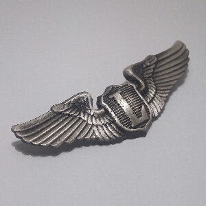 Badge, Wings, Pilot, Liason