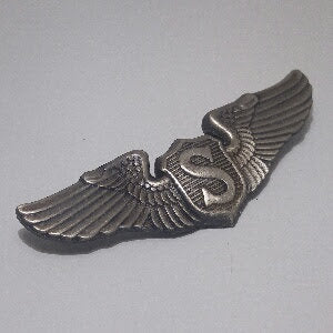Badge, Wings, Pilot, Service