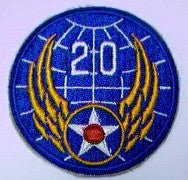 Patch, Air Force, 20th