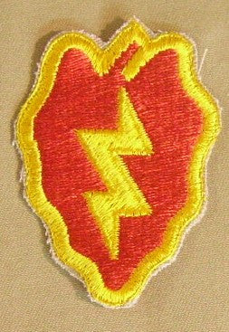 Patch, Division, Infantry, 25th