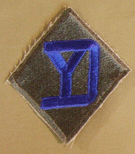Patch, Division, Infantry, 26th