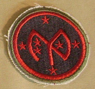 Patch, Division, Infantry, 27th