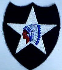 Patch, Division, Infantry, 2nd