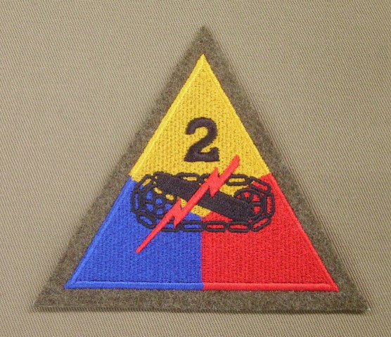 Patch, Division, 2nd Armored, Woolie